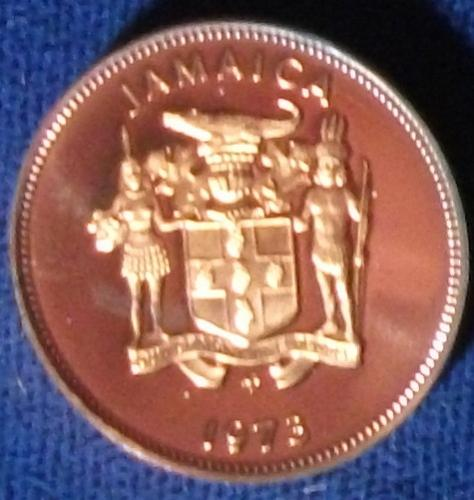 1973 Jamaica Cent Proof