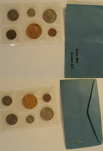 1977 US MINT DENVER SOUVENIR UNCIRCULATED COIN SET