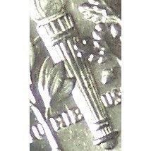 2000-D Roosevelt Dime GEM BU Full Bands in the Cello #0734