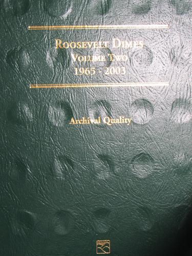 Roosevelt Dimes Volume Two 1965-2003