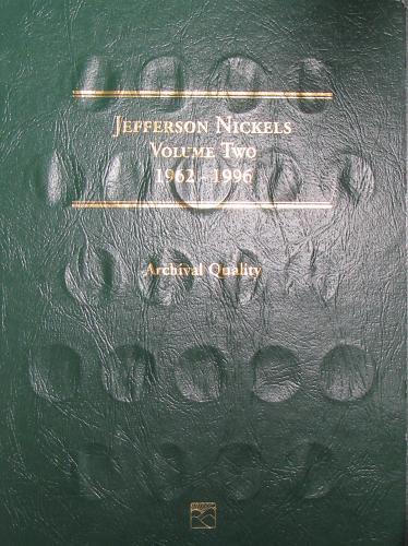 Jefferson Nickels Volume Two 1962-1996