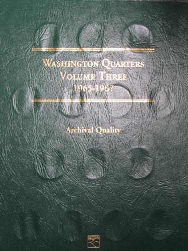 Washington Quarters Volume Three 1965-1987