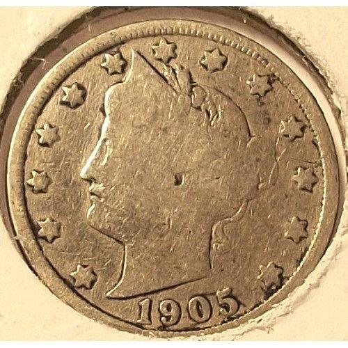 1905 Liberty Head Nickel G4 #0743