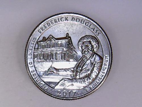 2017 D Frederick Douglass America The Beautiful Quarter
