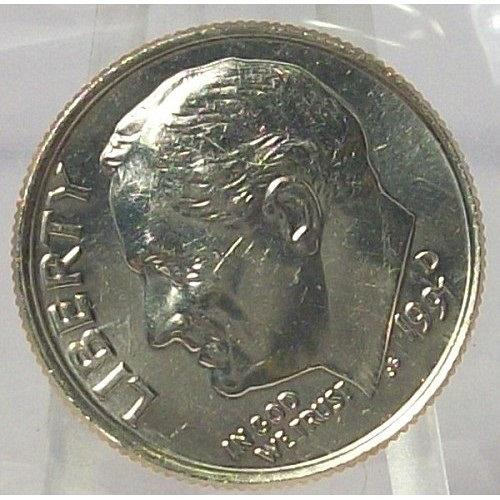 1991-D Roosevelt Dime BU in the Cello #0764