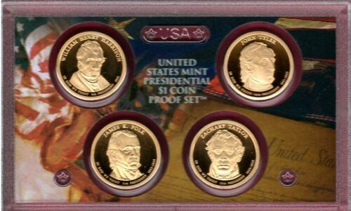 2009   S   PROOF  4 PIECE PRESIDENTIAL SET