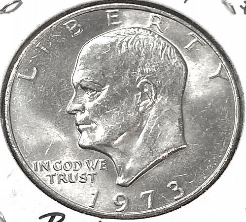 1973-P $1 Ike