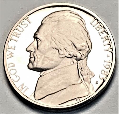 1983-S Proof Jefferson Nickel [SVB 95]