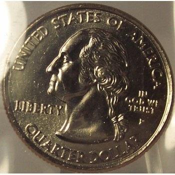 2000-P New Hampshire State Quarter BU in the Cello #0797