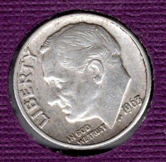 1963 D Roosevelt Dimes - #5