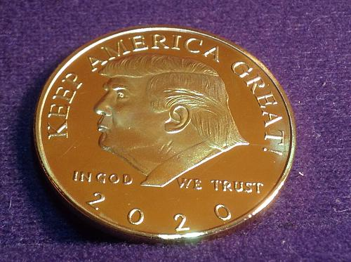 2020 Trump Commemorative Coin