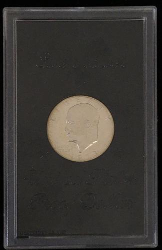 1973-S Proof Eisenhower Dollar in Holder PR69