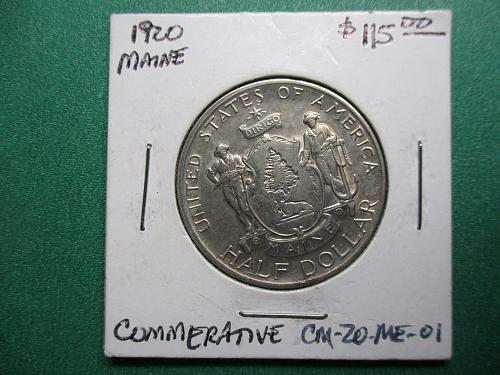 1920 Maine Classic Commemorative.  Item: CM 20 ME-01