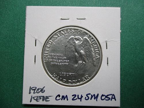 1925 Stone Mountain Classic Commemorative Half Dollar.  Item: CM 25 SM-05