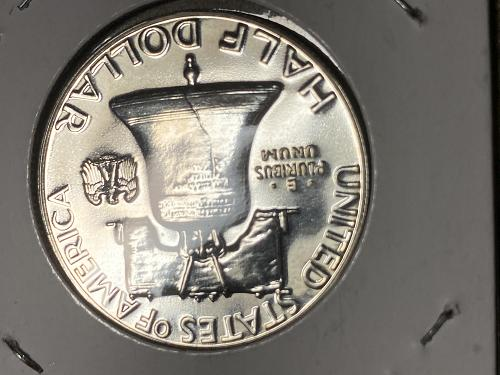 1961 50 cents 90% silver proof