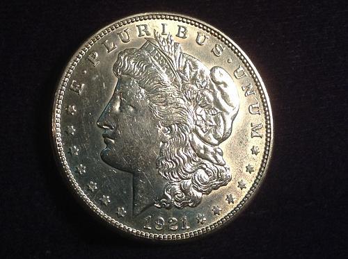 1921 S Silver Morgan Dollar