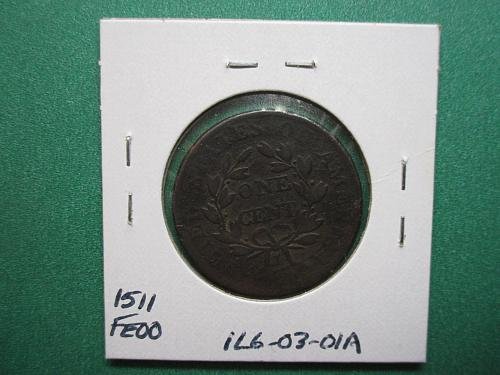 1803 Draped Bust Large Cent:  Large Date-Large Fraction.  Item:1LG 03-01.