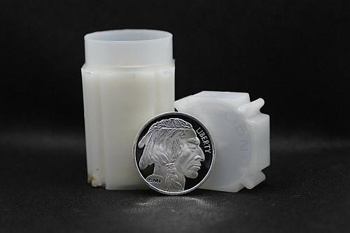(1) Sunshine Mint 1oz Silver Buffalo Round from roll.