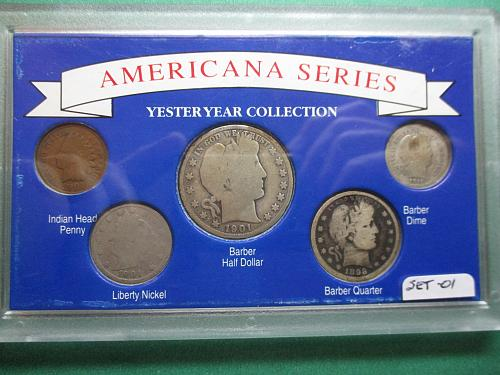 Americana Series Yesteryear Collections  Item: Set 01.
