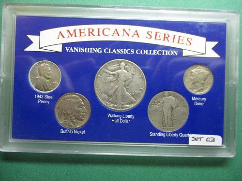 Americana Series Vanishing Classic Collections.  Item: Set 03.