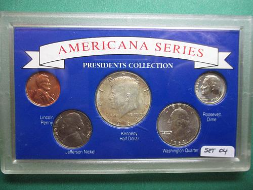 Americana Series Presidents Collection.  Item: Set 04.