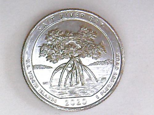 2020 P Salt River Bay America The Beautiful Quarter  See Pictures