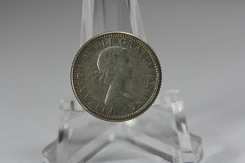 1957 Canada 10 Cent Silver