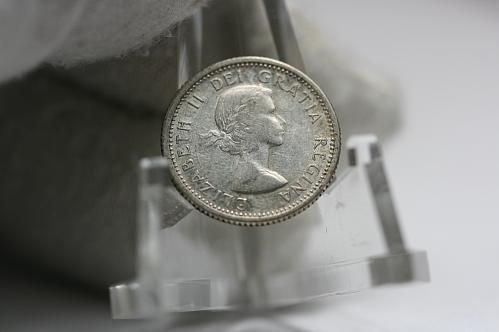 1958 Canada 10 Cent Silver