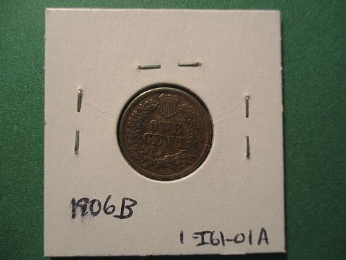 1861 VF25 Indian Head Cent.  Item: 1 I61-01.