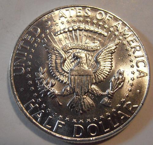 1964 BU Kennedy Half Dollar 90% Silver