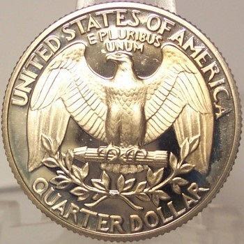 1980-S Deep Cameo Clad Proof Washington Quarter #0863
