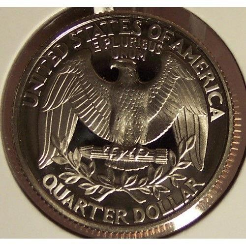 1995-S Deep Cameo Clad Proof Washington Quarter #0884