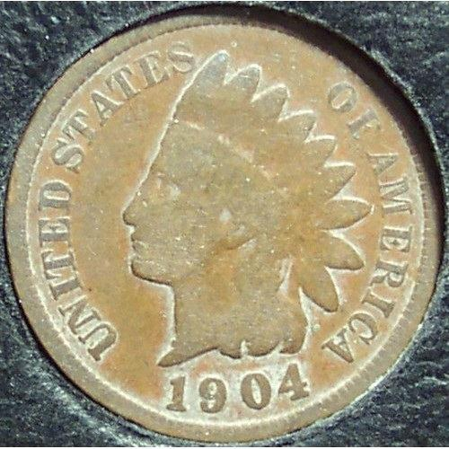 1904 Indian Head Penny G #0901