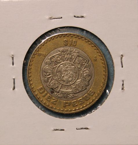 Mexico 1998 10 Pesos
