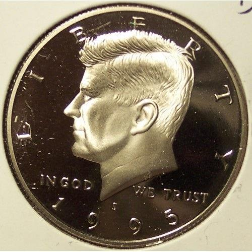 1995-S Deep Cameo Proof Kennedy Half Dollar #0920