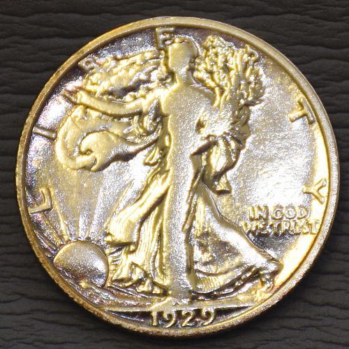 1929 D Walking Liberty Half Dollar #N1113