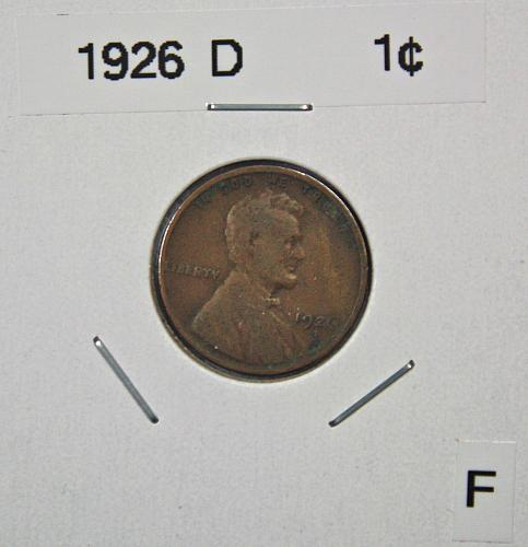 1926 D Lincoln Wheat Cent