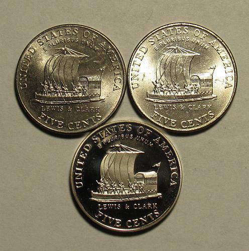 2004 P,D&S Jefferson Nickels: Keelboat