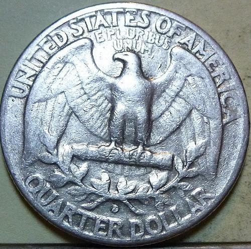 1956-D EXTRA FINE Washington Quarter XF (36)