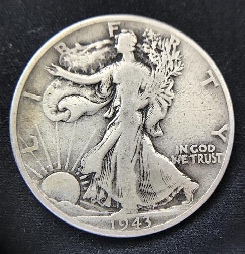 1943 Walking Liberty Half Dollar--90% Silver