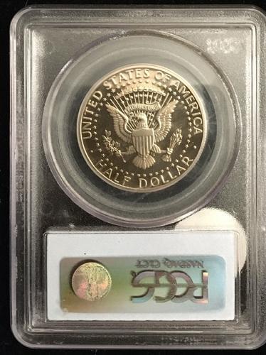 1992-S kennedy HALF Dollar COPPER NICKEL PROOF PR69DCAM