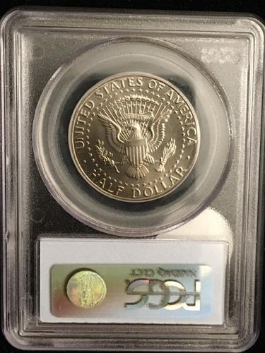 2005 D  Kennedy Half Copper Nickel Minted 1965 to date graded MS66