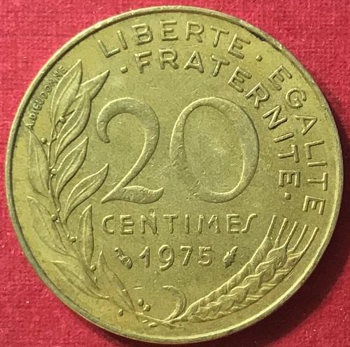 France 1975 - 20 Centimes