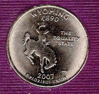 2007 D BU Wyoming Washington Quarter #2