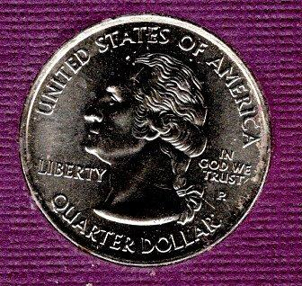 2000 P BU New Hampshire Washington Quarter #4