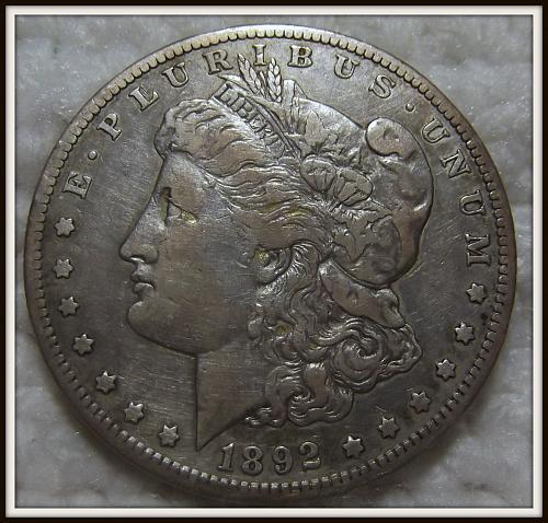 1892-S $1 Morgan Silver Dollar