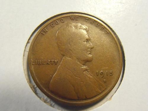 1915 D Lincoln Cent, (15DX6)