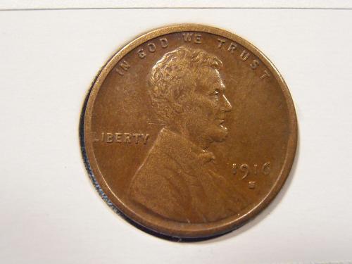 1916 S Lincoln Cent, (16SC1)