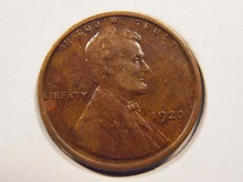 1920 P Lincoln Cent, (20PX1)