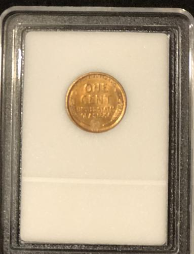 1909 VDB Lincoln High Grade 1C Encapsulated 1st Year Issue!